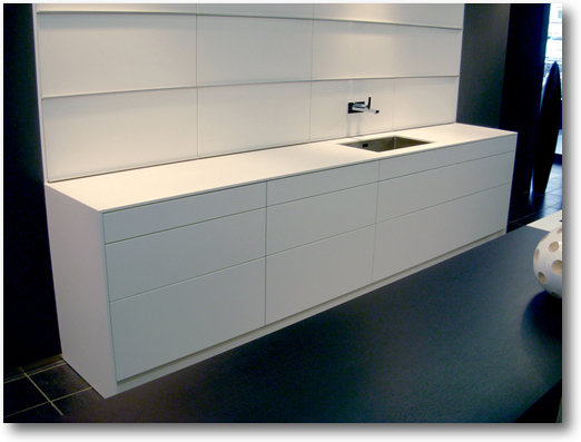 plan de cuisine corian meuble crea diffusion. Black Bedroom Furniture Sets. Home Design Ideas